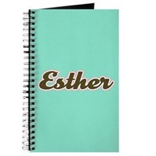 Esther Aqua Journal