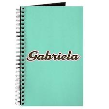 Gabriela Aqua Journal