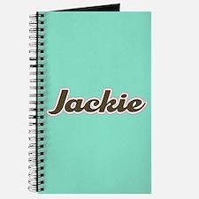 Jackie Aqua Journal