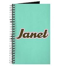 Janet Aqua Journal