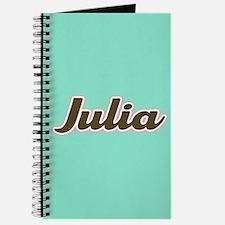 Julia Aqua Journal