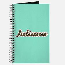 Juliana Aqua Journal