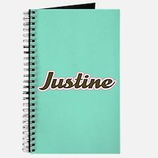 Justine Aqua Journal