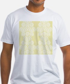 Yellow Damask T-Shirt
