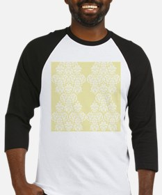 Yellow Damask Baseball Jersey