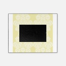Yellow Damask Picture Frame