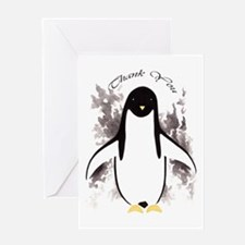 Penguin Thank You Greeting Card