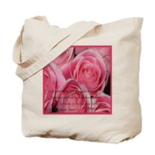 Shower of Roses, St. Therese Tote Bag