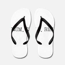 Swim Cycle Run Flip Flops