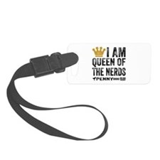 Penny Queen Of The Nerds Luggage Tag