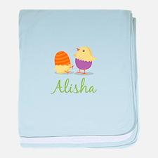 Easter Chick Alisha baby blanket