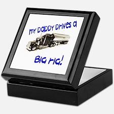 Trucking Dad Keepsake Box