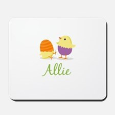 Easter Chick Allie Mousepad