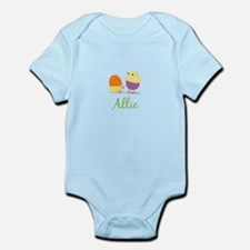 Easter Chick Allie Body Suit