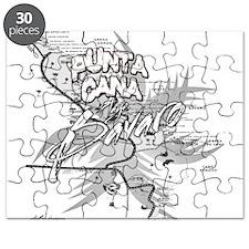 Punta Cana Bavaro Map Puzzle