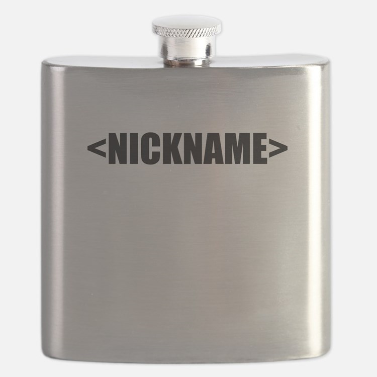 Nickname Personalize It! Flask