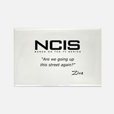 NCIS Ziva David Up the Street Rectangle Magnet (10