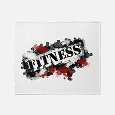 Fitness Throw Blanket