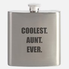 Coolest Aunt Ever Flask