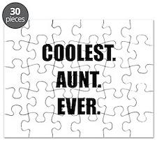 Coolest Aunt Ever Puzzle
