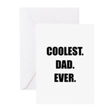 Coolest Dad Ever Greeting Cards (Pk of 10)