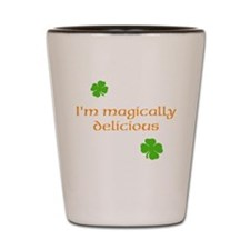 St. Patricks Day Magically Delicious Shot Glass