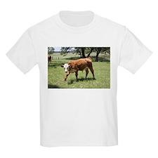 Hereford Calf at the LBJ Ranch T-Shirt