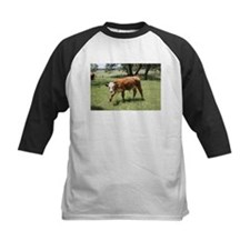 Hereford Calf at the LBJ Ranch Baseball Jersey