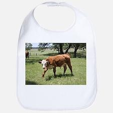 Hereford Calf at the LBJ Ranch Bib