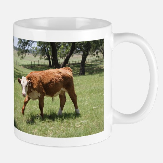 Hereford Calf at the LBJ Ranch Mug