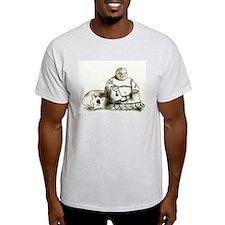 Buddha and the cat T-Shirt