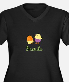 Easter Chick Brenda Plus Size T-Shirt