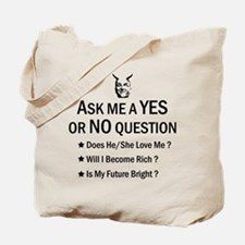 Twilight Zone - Yes or No Question Tote Bag