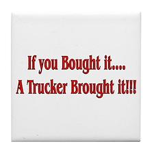 Truck 'n' Pride Tile Coaster