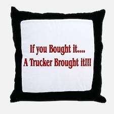 Truck 'n' Pride Throw Pillow
