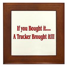Truck 'n' Pride Framed Tile