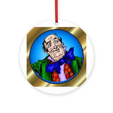 Wizard of Oz Blue Round Ornament