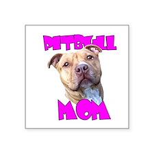 Pitbull Mom Sticker