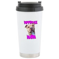 Pitbull Mom Travel Mug
