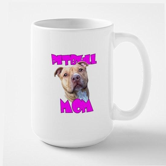 Pitbull Mom Mug