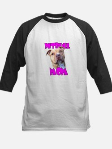 Pitbull Mom Baseball Jersey