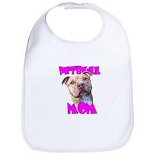 Pitbull Mom Bib