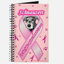 Cute Schnauzer breast cancer Journal