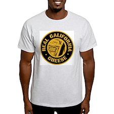 Real California Cheese Ash Grey T-Shirt