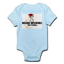 Mission Impawsible Dog Training Logo Body Suit