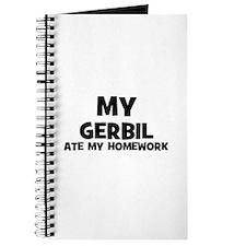 My Gerbil Ate My Homework Journal