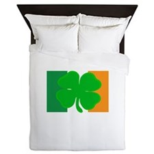 Irish Flag Queen Duvet