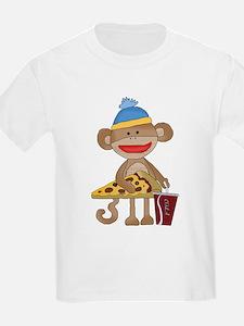 Sock Monkey snack time T-Shirt