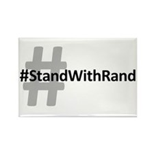 #StandWithRand Rectangle Magnet