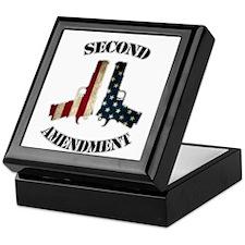 Second Amendment Keepsake Box
